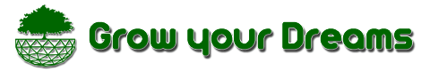 Logo Grow your Dreams